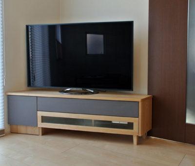 オーダーTVボード / タモ 201405