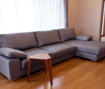 Ori stool/ ブラックチェリー