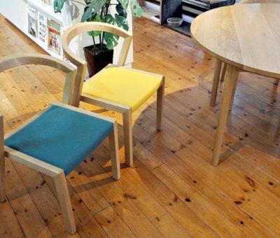 U chair / レッドオーク 2015/05