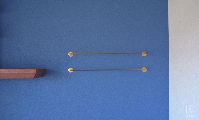 オーダー真鍮ハンガーバー