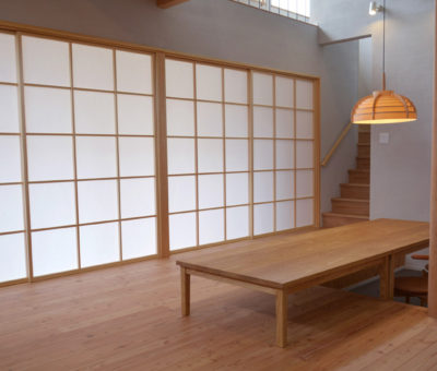 ダイニングテーブル+ローテーブル(こたつ)/タモ無垢材