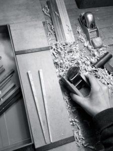 手づくり箸 道具