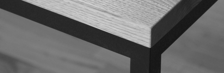 アイアン脚テーブル(定番タイプ)