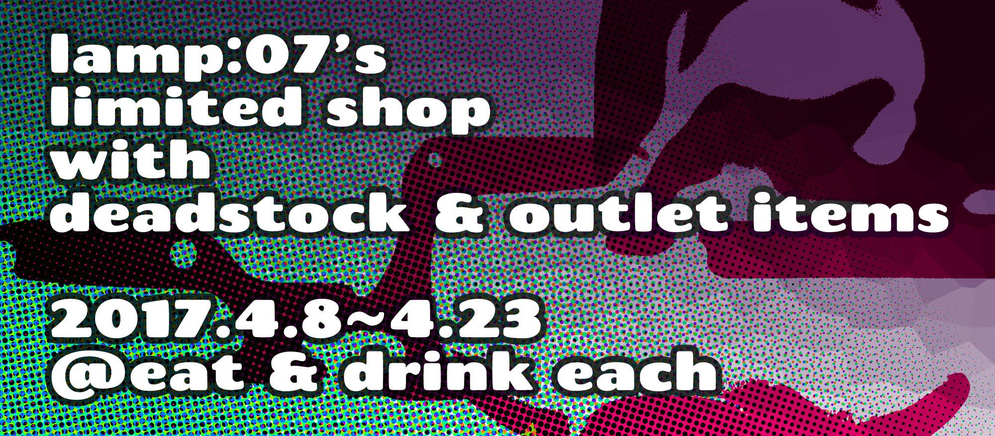 limited shop @ eat & drink each